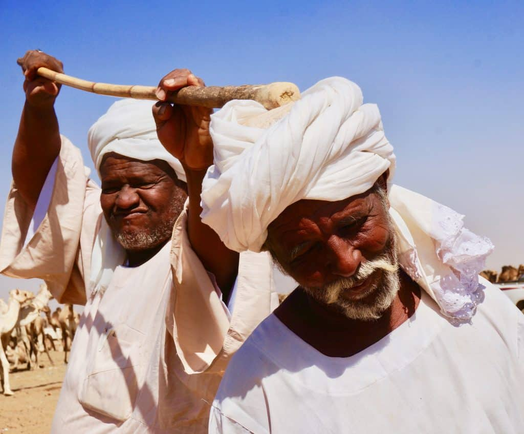 Visit Sudan to mix with the funny locals