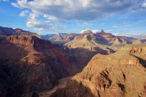 Views whilst hiking the grand canyon rim to rim