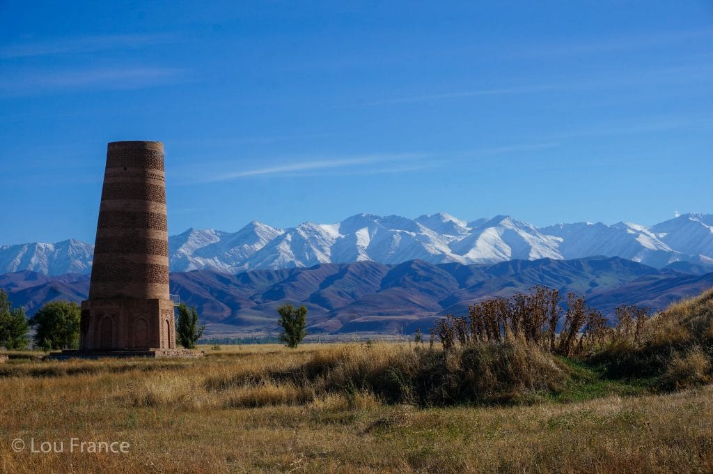 Burana Tower is a major tourist attraction in Kyrgyzstan