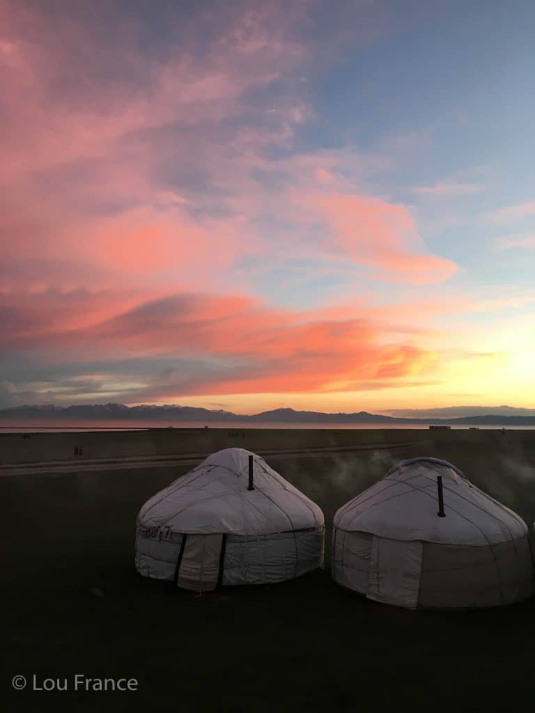 Stay in yurts on your tour of Kyrgyzstan