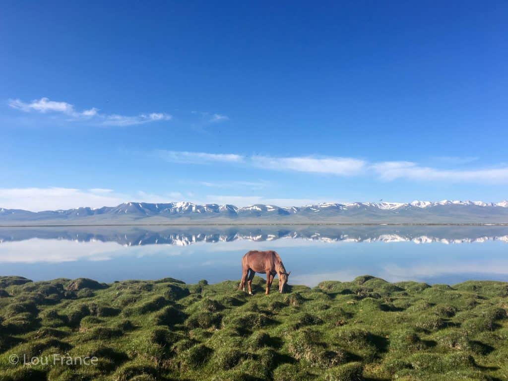 A visit to Song Kol lake is a must when backpacking Kyrgyzstan
