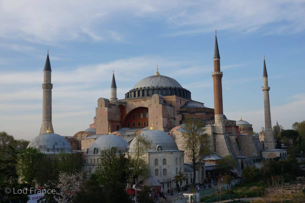 Start an Istanbul to Cappadocia road trip at the  Hagia Sofia in Istanbul