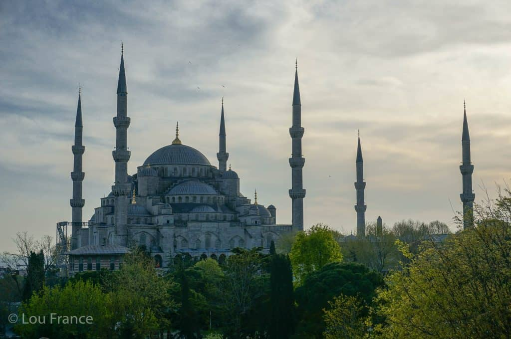 Blue Mosque in Istanbul, one of Turkey's top destinations