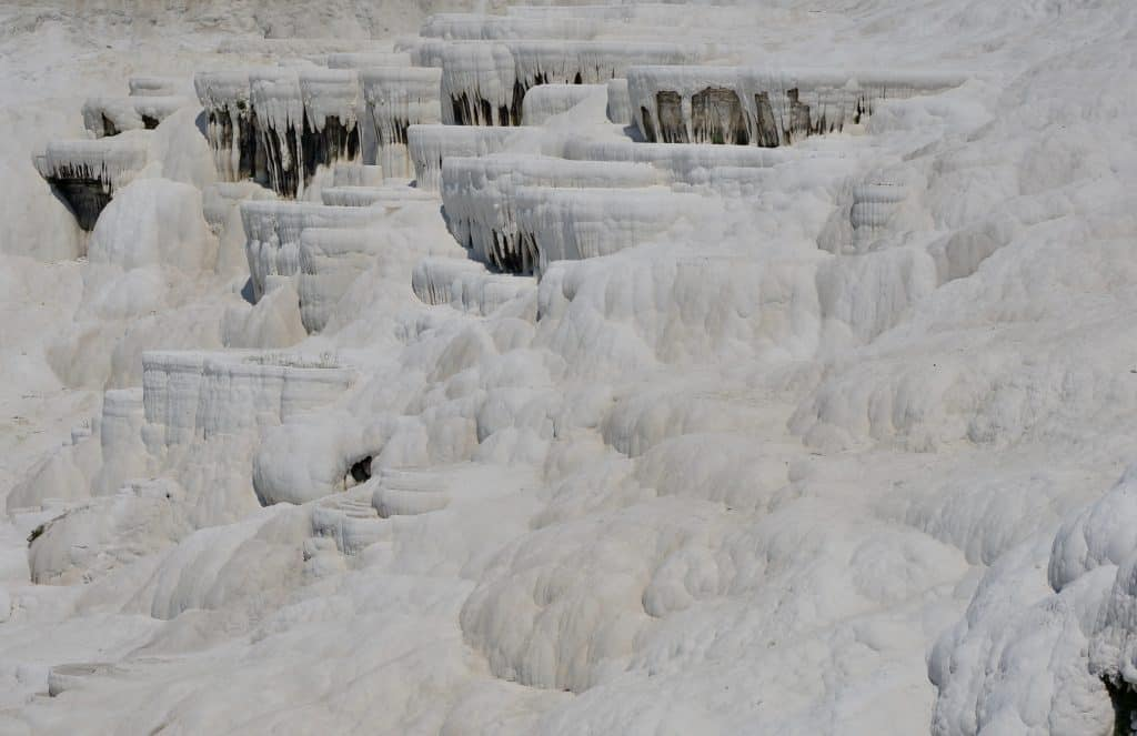 Pamukkale is a popular Turkey tourist destination
