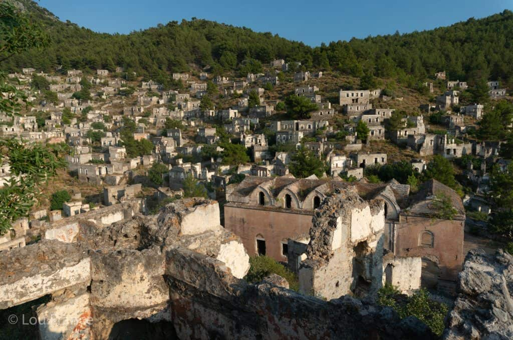 A ruined Greek town is a top place in Turkey to visit