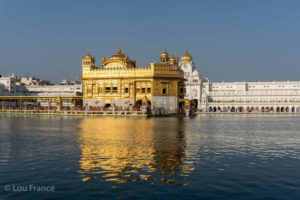 The Golden Temple is on of the best places to visit in India