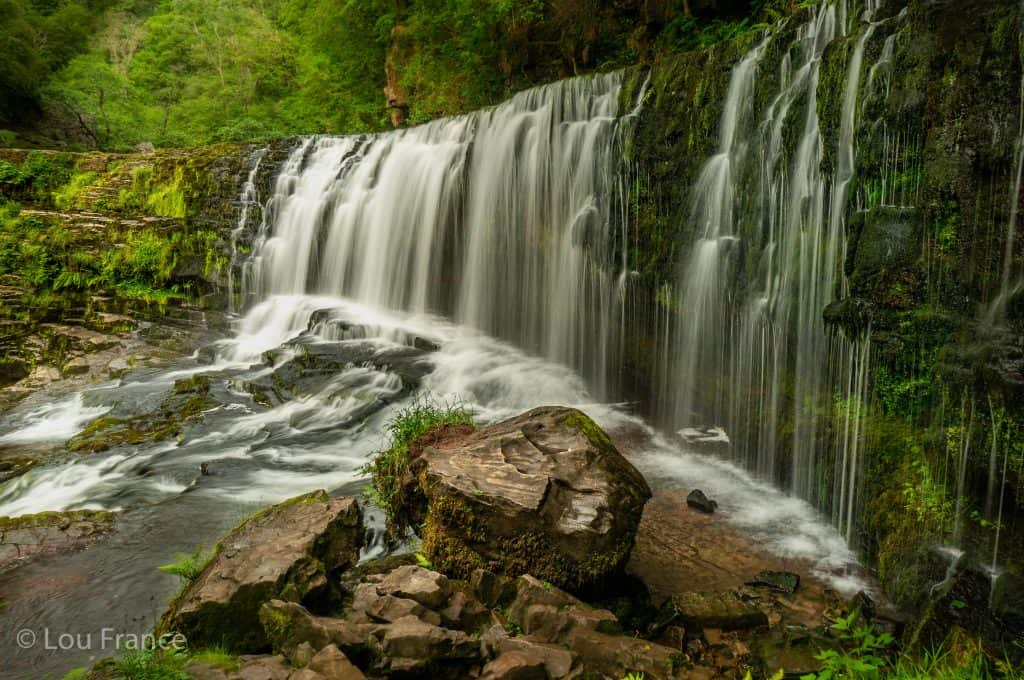 Sgwd Isaf Clun-Gwyn is one of the most beautiful waterfalls in the world