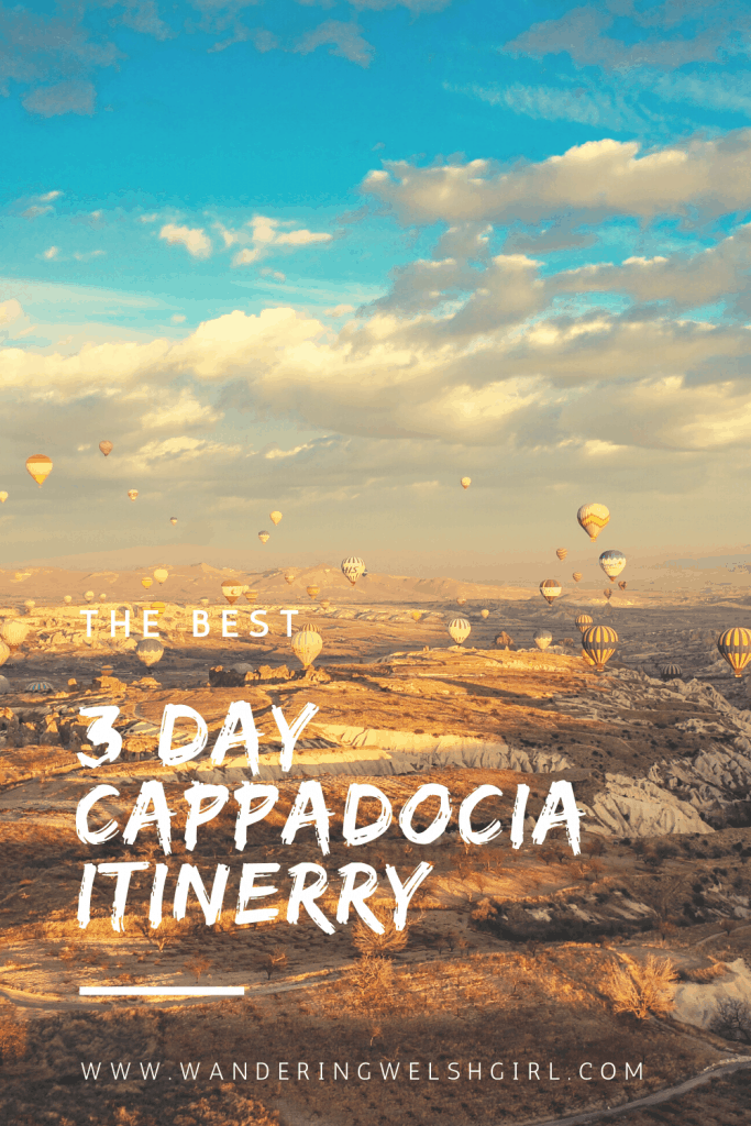Cappadocia is a must visit destination on a trip to Turkey. Discover the top sights to see with this 3 day Cappadocia itinerary.