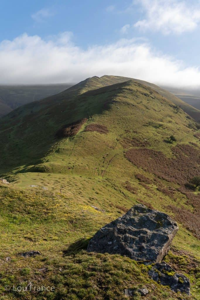 The Dragons Back, Wales