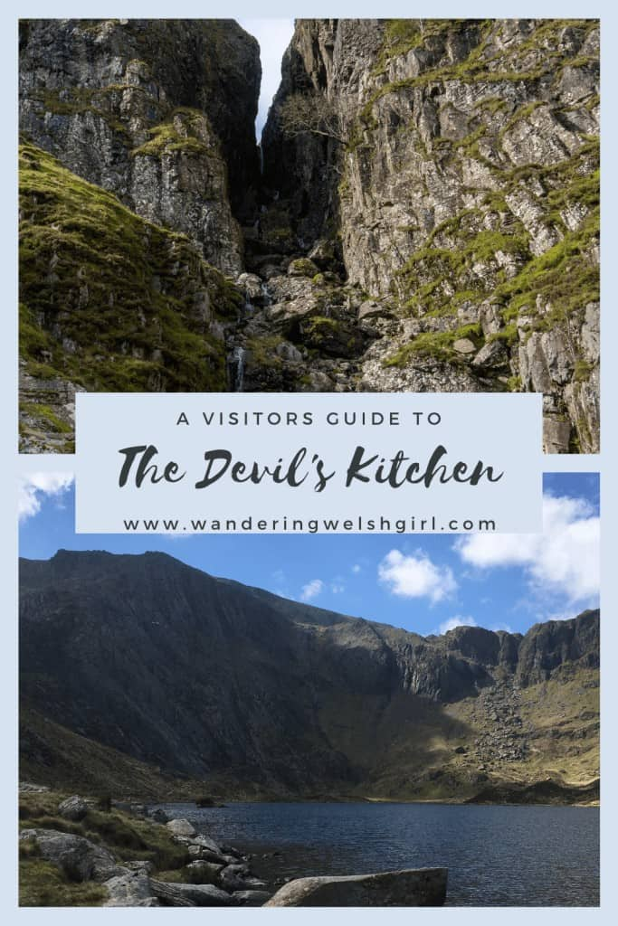 4 hiking routes to explore the Devil's Kitchen in Snowdonia National Park, Wales